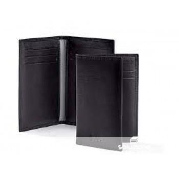 SMOOTH RIGID CARD CASE BLACK